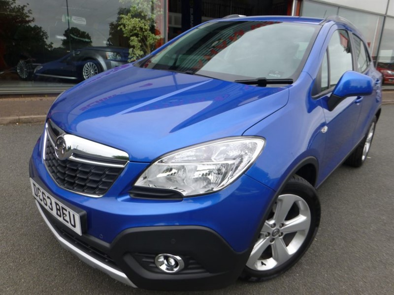used Vauxhall Mokka TECH LINE S/S + SAT-NAV + LOW MILES + 1 LADY OWNER + CRUISE + FVSH in chester