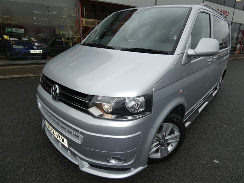 used VW Caravelle EXECUTIVE TDI + SAT-NAV + REAR ENTERTAINMENT + HEATED SEATS + 7 SEATS + PRIVACY GLASS + STUNNING in chester