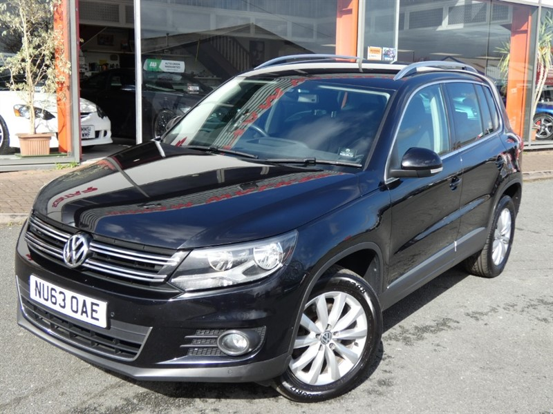 used VW Tiguan MATCH TDI BLUEMOTION TECHNOLOGY + 2 OWNERS + FSH + SAT-NAV + LOCAL CAR +NEW CLUTCH & FLYWHEEL FITTED in chester