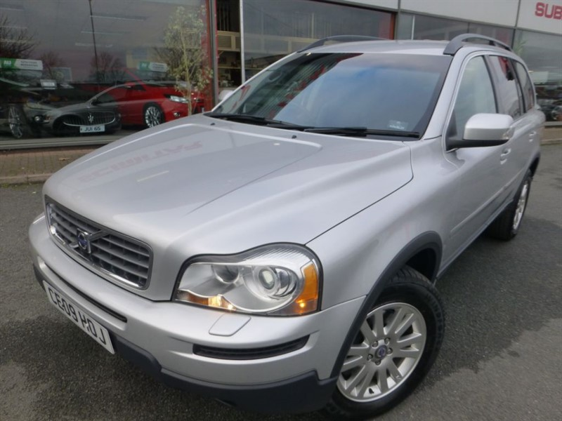 used Volvo XC90 D5 S AWD + FSH + LOCAL LADY OWNER + ONLY 2 OWNERS + PRIVACY GLASS + 7 SEATS in chester