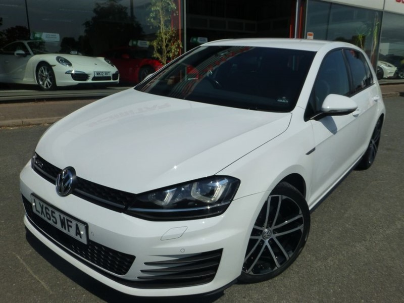 used VW Golf GTD DSG + SAT-NAV + HEATED LEATHER + FVWSH + VW PERFORMANCE PACK 240 BHP in chester