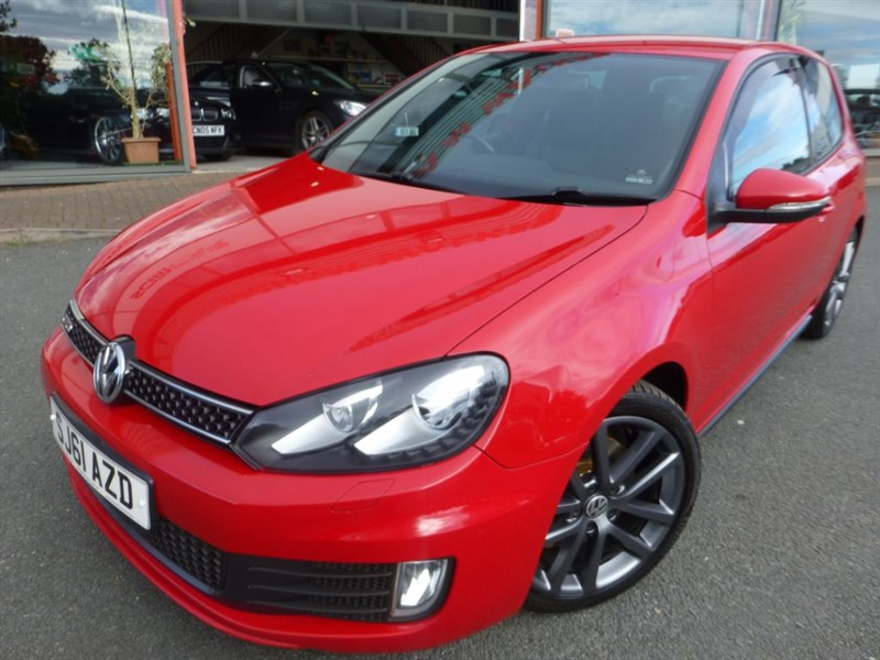 used VW Golf GTD TDI + FULL BLACK HEATED LEATHER UPHOLSTREY + FSH + 2 OWNERS + STUNNING  in chester