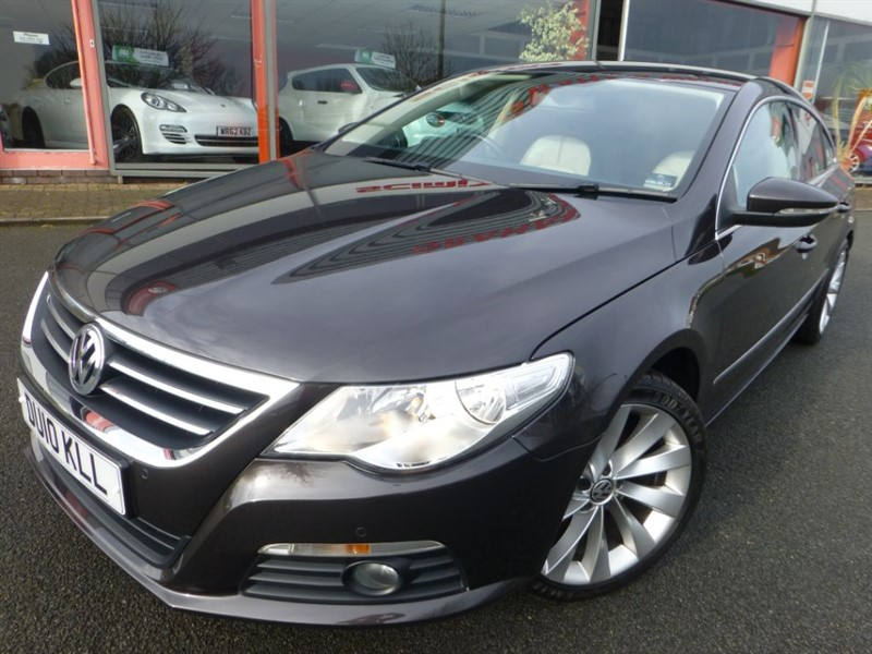 "used VW Passat CC TSI + FSH + LOCAL CAR + TWO TONE LEATHER + F & R PARK SENSORS + 18"" ALLOYS  in chester"