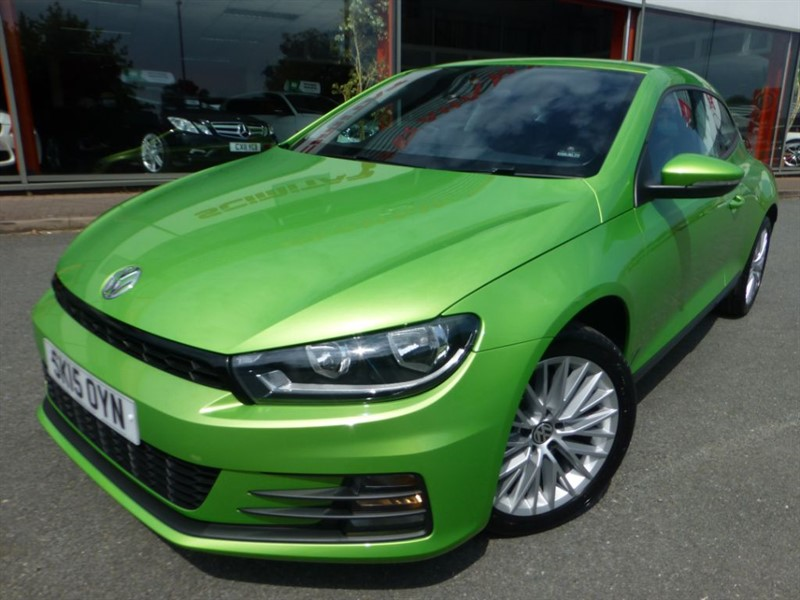 used VW Scirocco TSI BLUEMOTION TECHNOLOGY + LOW MILES + LOCAL 1 OWNER + FVWSH + LOVELY COLO in chester