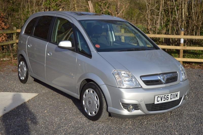 used Vauxhall Meriva DESIGN 16V TWINPORT in tickenham-bristol