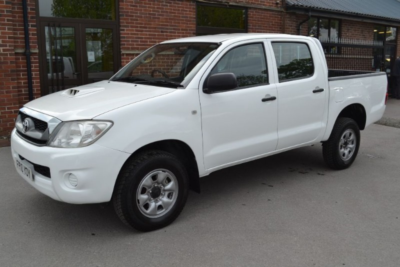 Used Toyota Hilux Hl2 4x4 D 4d Double Cab Macclesfield