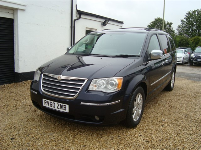 used Chrysler Voyager CRD GRAND LIMITED WHEELCHAIR ACCESSIBLE in oxford