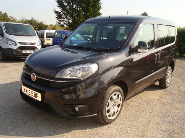 used Fiat Doblo EASY WHEELCHAIR ACCESSIBLE in oxford