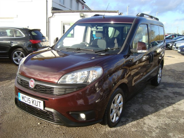 used Fiat Doblo MULTIJET EASY DUALOGIC in oxford