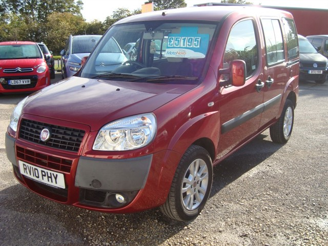 used Fiat Doblo DYNAMIC WHEELCHAIR ACCESSIBLE in oxford