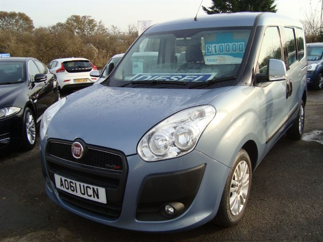 used Fiat Doblo MULTIJET ELEGANZA WHEELCHAIR ACCESSIBLE CAR in oxford