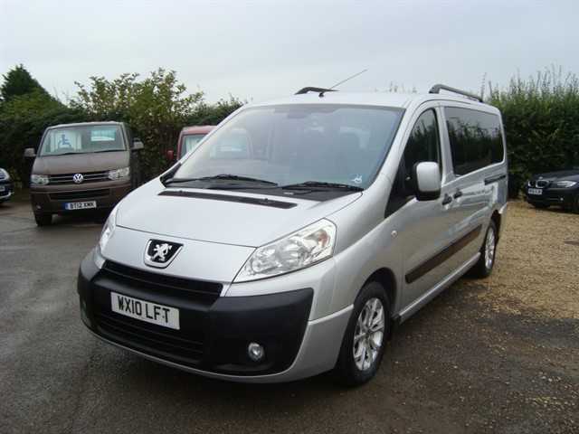 used Peugeot Expert Tepee TEPEE COMFORT TWIN WHEELCHAIR ACCESSIBLE in oxford