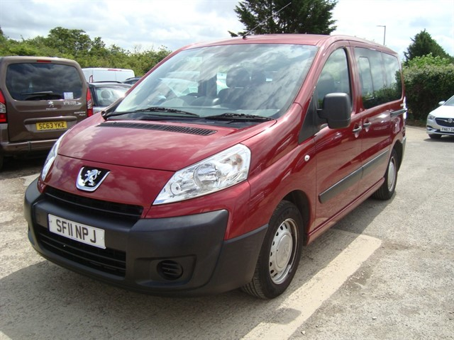 used Peugeot Expert Tepee HDI COMFORT WHEELCHAIR ACCESSIBLE in oxford