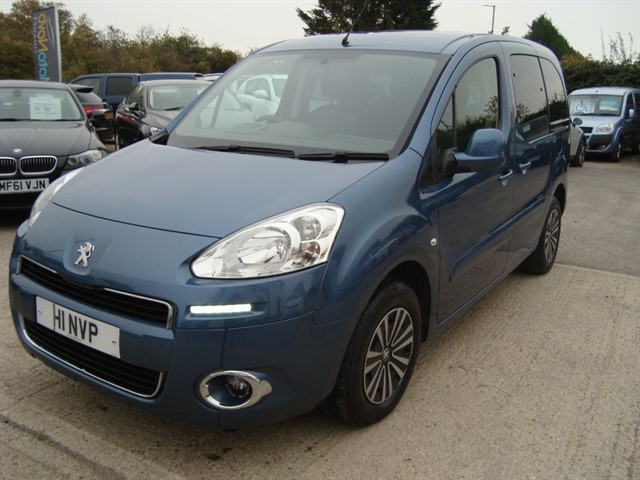 used Peugeot Partner Tepee HDI TEPEE S WHEELCHAIR, ACCESSIBLE CAR in oxford