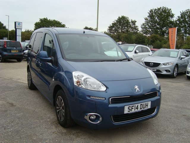 used Peugeot Partner Tepee HORIZON AUTOMATIC WHEELCHAIR ACCESSIBLE in oxford