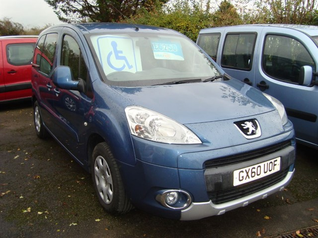 used Peugeot Partner Tepee S HDI Wheelchair Accessible Car in oxford