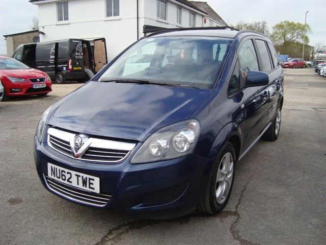 used Vauxhall Zafira EXCLUSIVE in oxford
