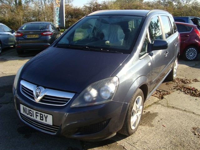 used Vauxhall Zafira EXCLUSIVE WHEELCHAIR ACCESSIBLE VEHICLE in oxford