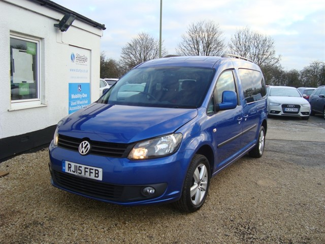 used VW Caddy C20 LIFE TDI BLUEMOTION TECHNOLOGY in oxford