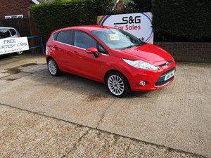 Car of the week - Ford Fiesta TITANIUM 1.4 5 door - Only £4,695