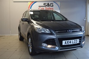 Car of the week - Ford Kuga TITANIUM TDCI 2WD - Only £10,995