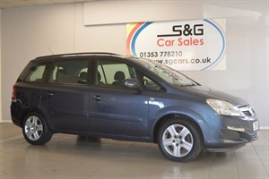 Car of the week - Vauxhall Zafira EXCLUSIV 1.6 - Only £4,495