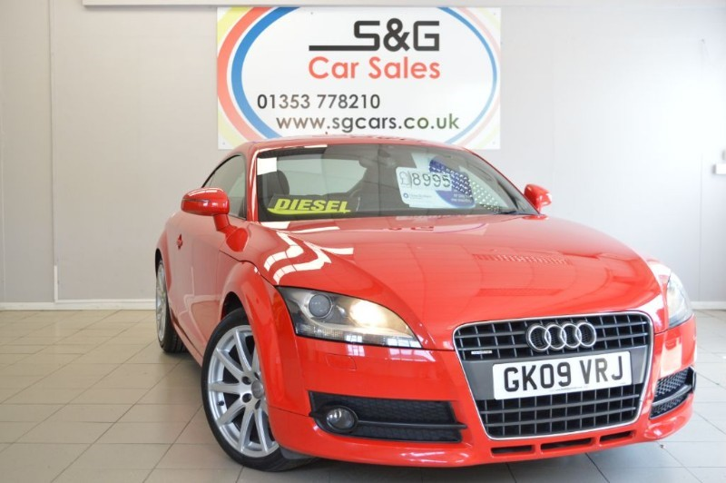 used Audi TT TDI QUATTRO in ely-cambridgeshire