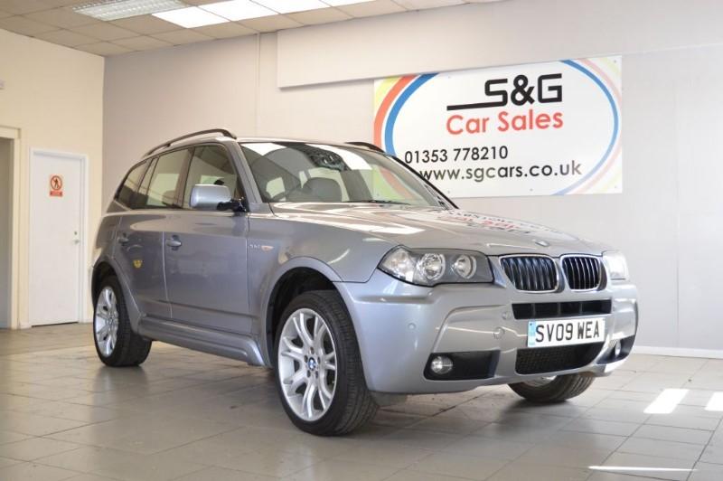 used BMW X3 D M SPORT diesel in ely-cambridgeshire