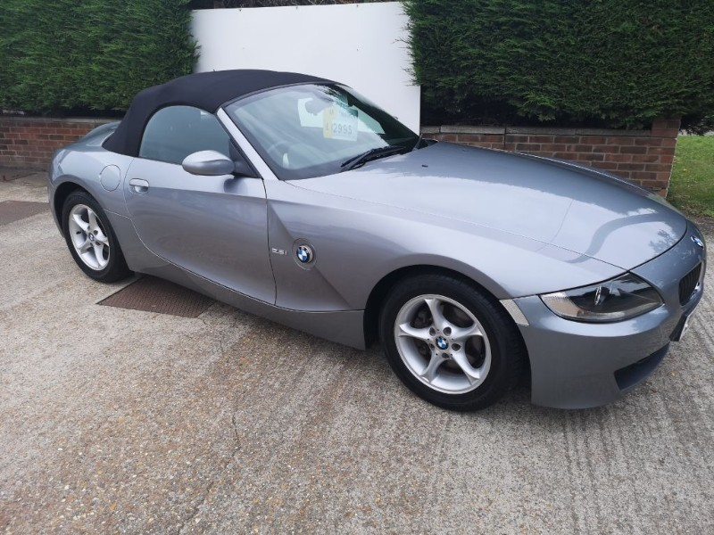 used BMW Z4 SE ROADSTER 2.5i in ely-cambridgeshire