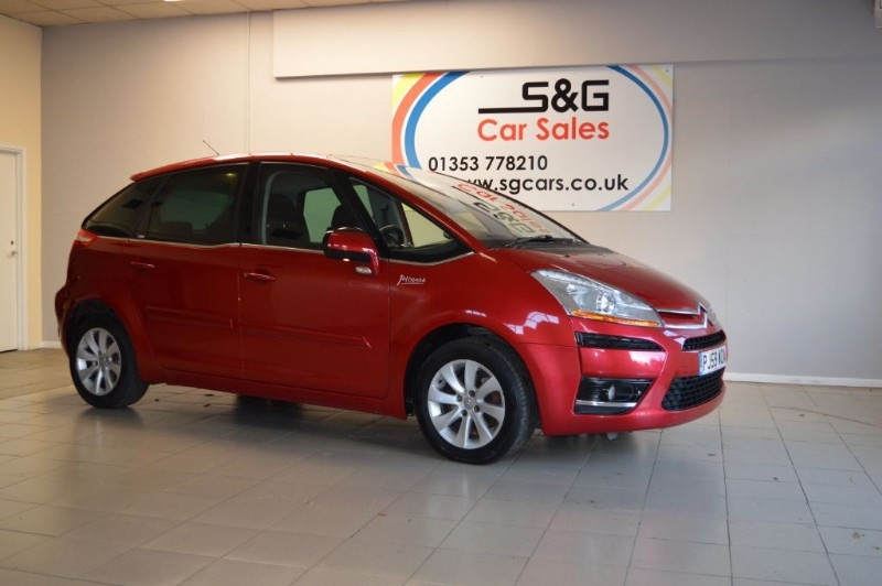 used Citroen C4 Picasso EXCLUSIVE HDI EGS in ely-cambridgeshire