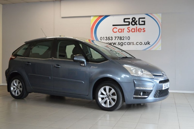 used Citroen C4 Picasso VTR PLUS HDI EGS in ely-cambridgeshire