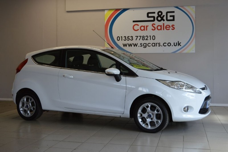 used Ford Fiesta ZETEC TDCI 1.4 in ely-cambridgeshire