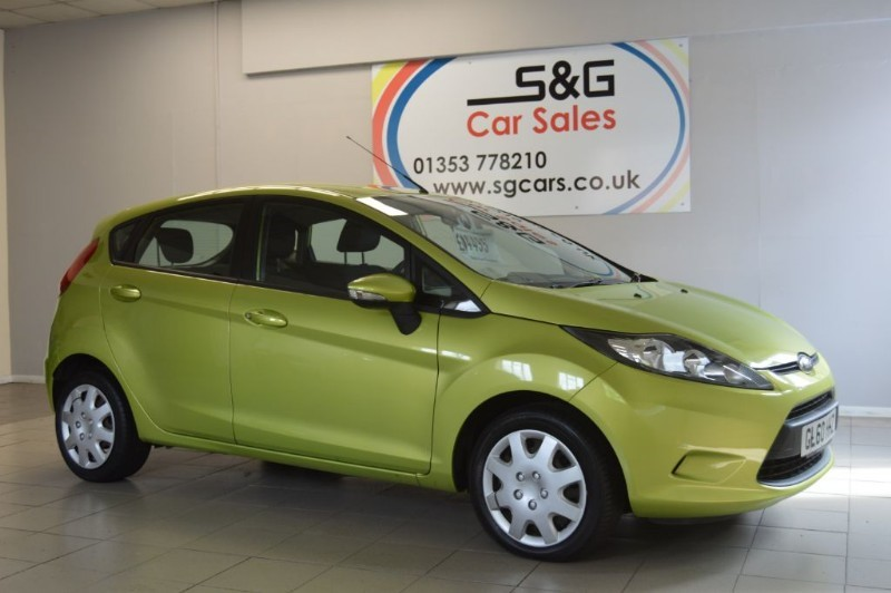 used Ford Fiesta EDGE TDCI 1.4 in ely-cambridgeshire