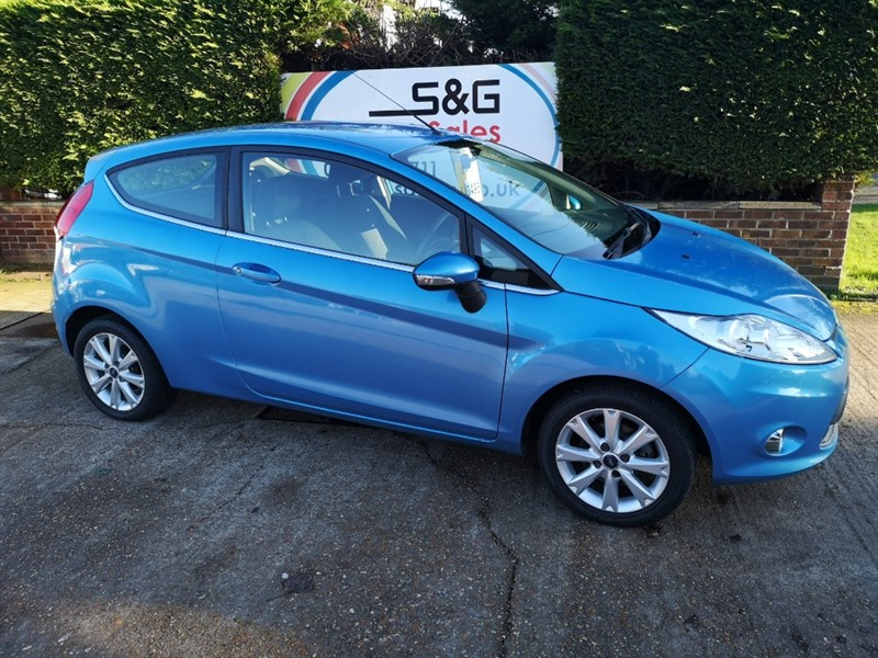 used Ford Fiesta ZETEC 1.4 in ely-cambridgeshire