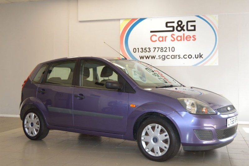 used Ford Fiesta STYLE 16V 1.25 in ely-cambridgeshire