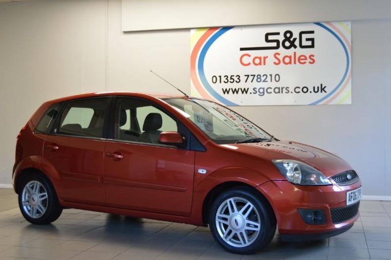 used Ford Fiesta GHIA 16V 1.4 in ely-cambridgeshire