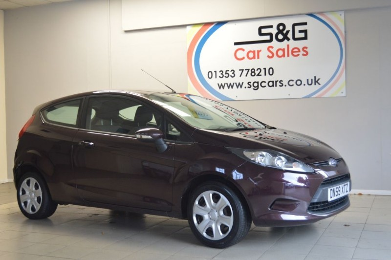used Ford Fiesta STYLE PLUS 1.2 in ely-cambridgeshire