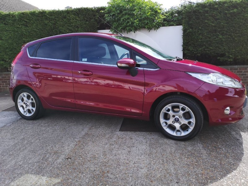 used Ford Fiesta ZETEC 16V 1.2 in ely-cambridgeshire