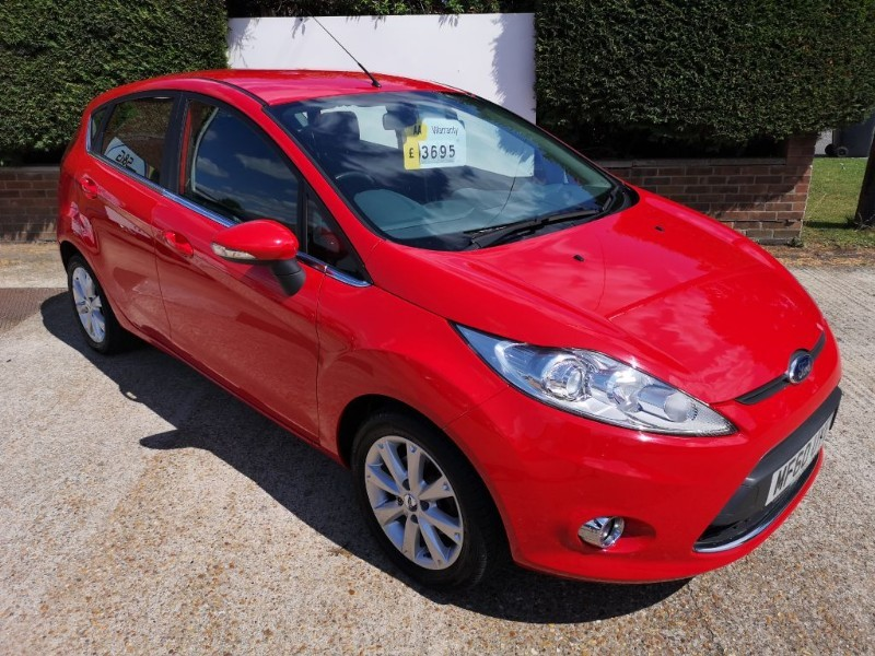 used Ford Fiesta ZETEC 1.25 in ely-cambridgeshire