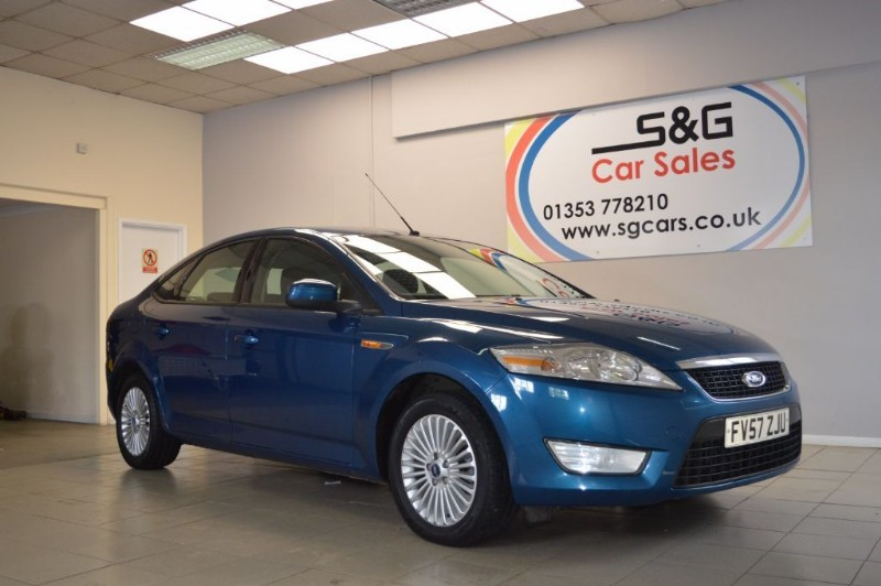 used Ford Mondeo ZETEC 145 in ely-cambridgeshire