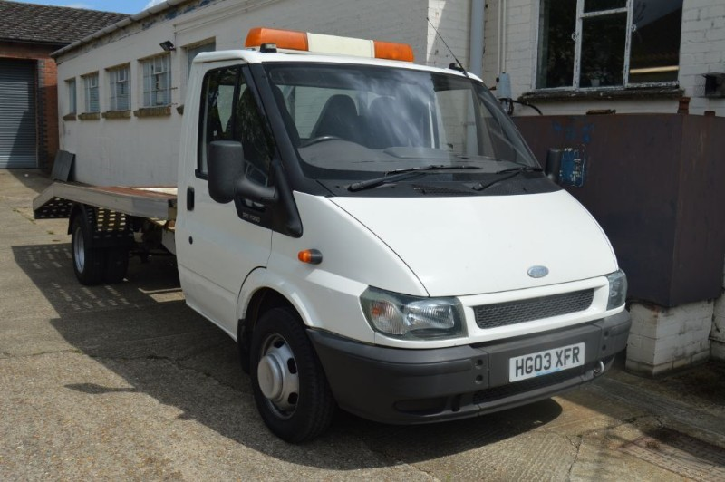 used Ford Transit 350 lwb recovery in ely-cambridgeshire