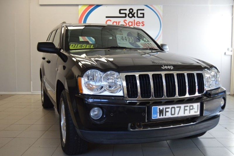 used Jeep Grand Cherokee V6 CRD LIMITED in ely-cambridgeshire