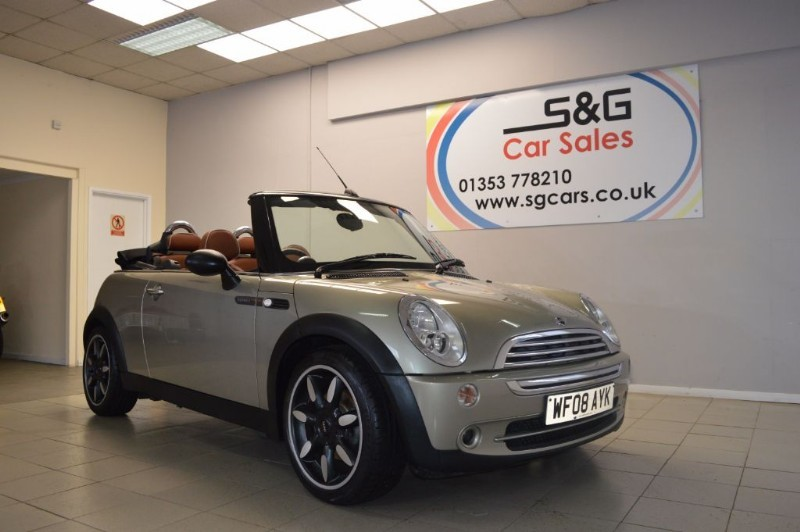 used MINI Convertible COOPER SIDEWALK in ely-cambridgeshire