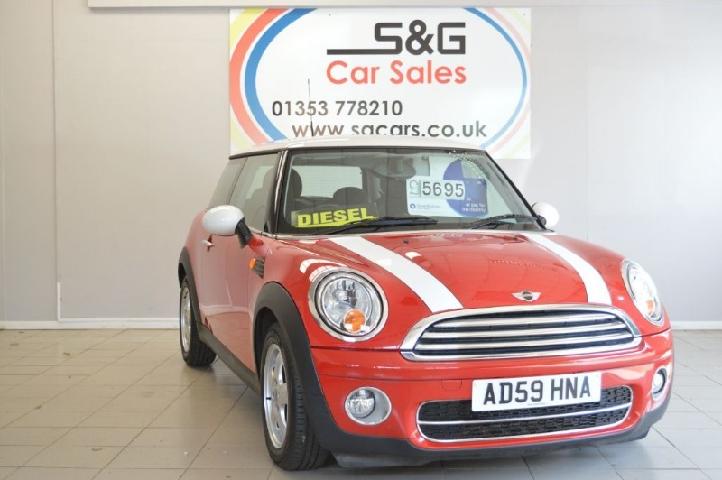 used MINI Hatch COOPER D in ely-cambridgeshire
