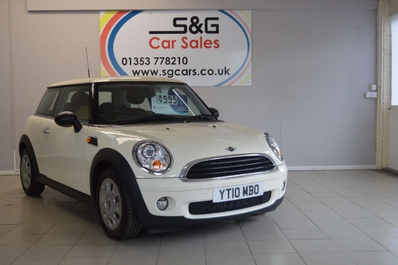 used MINI Hatch ONE in ely-cambridgeshire