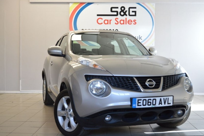 used Nissan Juke ACENTA 1.6 in ely-cambridgeshire