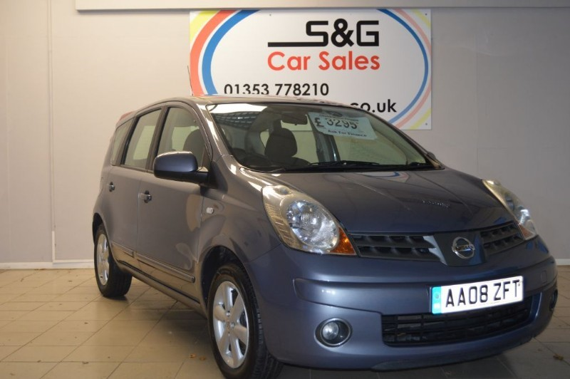 used Nissan Note ACENTA 1.4 in ely-cambridgeshire