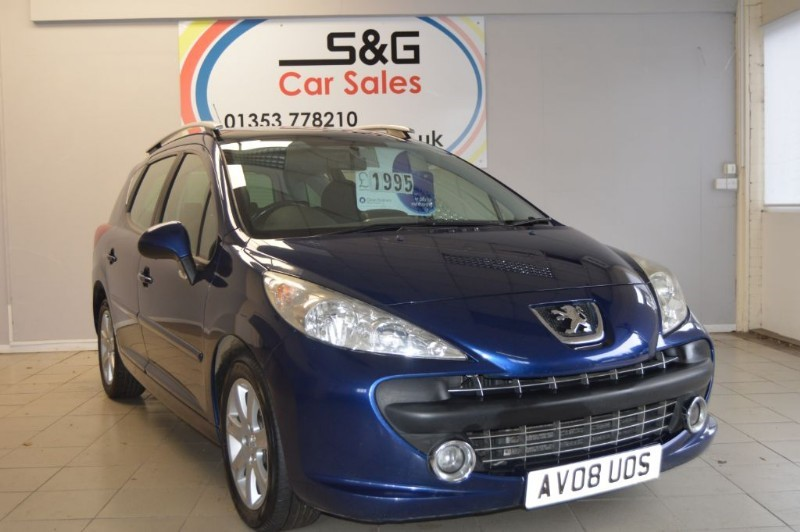 used Peugeot 207 SW SPORT HDI in ely-cambridgeshire