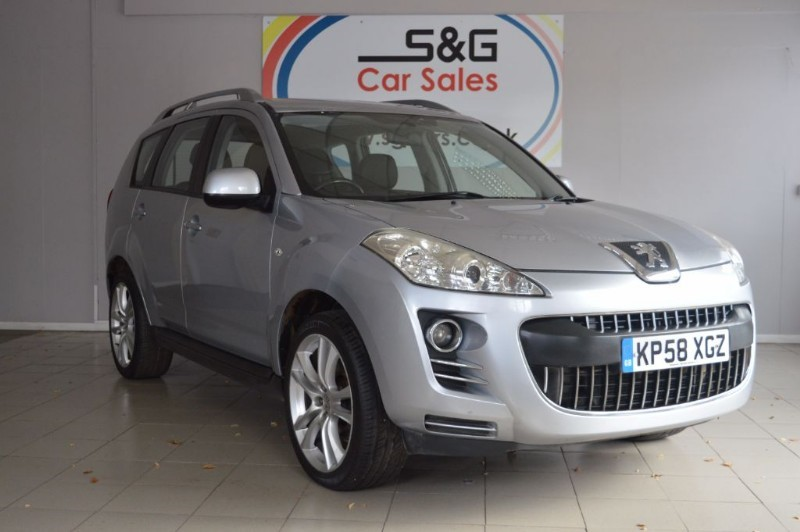 Peugeot 4007 for sale