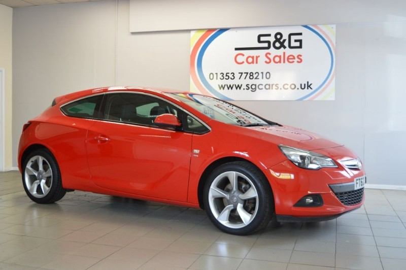 used Vauxhall Astra GTC SRI S/S 1.4T in ely-cambridgeshire